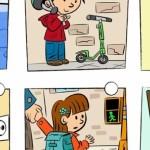 Escolares aprenden con Aldeas Infantiles SOS