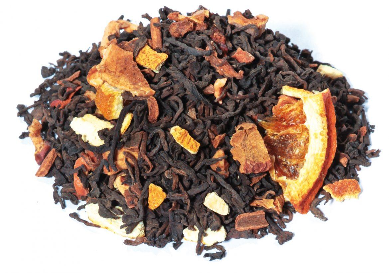 té rojo aromatizado