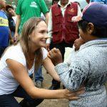 La Congresista Luciana León Romero se une a el equipo de Remar S.O.S