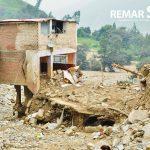 Campamento Base de Remar S.O.S Perú en el centro de la catástrofe.