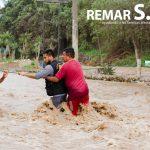 Remar S.O.S en Perú reparte los primeros cargamentos de ayuda humanitaria a las personas afectadas por las inundaci