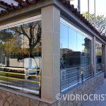 VidrioCristal realiza instalación de Cortinas de cristal en Valencia