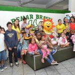 Entrega de juguetes a los niños de Remar ONG Brasil