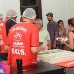 """Restaurante Solidario"""" de Remar ONG en Brasil."""