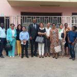 Remar Cabo Verde recibe la visita del ex presidente de la asamblea nacional y de ex diputadas.