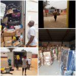Remar Angola recibe un contenedor de ayuda humanitaria desde Remar Portugal.