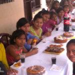 Remar ONGD Internacional con la nutrición de los niños.