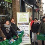 Remar Belgica brindando ayuda y comprometidos con las personas necesitadas