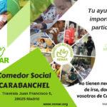 Comedor social de Carabanchel, un oasis en medio de la escasez.