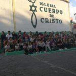 Los niños de Remar Guatemala celebran felices la navidad.