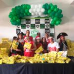 Fiesta solidaria y regalos para niños en São Paulo, Remar Brasil