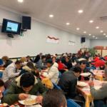 Amor, unidad y sonrisas en cena solidaria Comedor Social Carabanchel