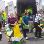 Remar Canarias reparte más de 1,800 kilos de verduras y frutas en los barrios más pobres de Gran Canaria