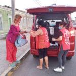 Remar SOS en Iquique, Chile llevando diariamente alimentos y esperanza a cientos de personas en las zonas más pobres de la cuidad