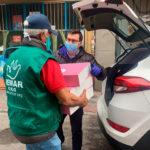 Concejal del distrito de Carabanchel y panadería La Mallorquina entregan donación de 300 torrijas para comedor social de Remar ONG