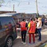 Remar SOS en Mendoza trabajando en unidad con el ministerio de salud y municipalidad de la ciudad de Las Heras, asistiendo a más de 350 personas en extrema pobreza, Remar Argentina