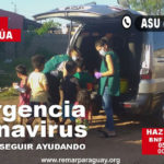 Remar SOS Paraguay reparte alimentos y meriendas en las zonas más pobres de Asunción, Paraguay