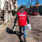 Remar S.O.S en Holanda reparte alimentos para ancianos y personas enfermas que no pueden salir de sus casas