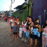 Remar SOS Costa Rica brindando alimentos y manos de ayuda a decenas de personas en los Barrios más desfavorecidos de la cuidad