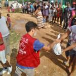 Remar SOS República Dominicana llegando a dar alimentos hasta los barrios más pobres de Santo Domingo este