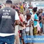 Remar SOS Costa de Marfil alimenta a cientos de niños y familias en las calles de Gonzague Ville, Abidjan
