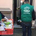 Remar SOS en Alemania llevando alimentos y alientos a los más necesitados en las calles de Hannover