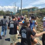 Remar SOS en Guatemala responde al llamado de decenas de familias con bandera blanca en el Municipio de Mixco