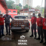 Remar SOS Brasil reparte 32 mil litros de leche a familias necesitadas y entidades de ayuda
