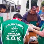 Remar Argentina sede Lanús llevando comidas y meriendas a cientos de personas necesitadas todos los días de la semana.