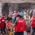 Remar Perú lleva ayuda a más de 200 familias en el Agustino uno de los distritos con más carencias del país