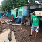 Remar SOS El Salvador brinda ayuda a más de 350 familias afectadas por la Tormenta Amanda