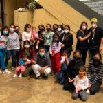 Odontólogos hacen trabajo voluntario en casa de niñas de ONG Remar en Perú.