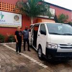 Remar Costa de Marfil recibe vehículo enviado desde Remar España