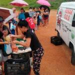 Remar SOS Brasil en los barrios más golpeados